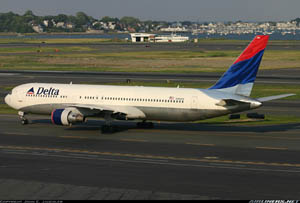 Delta Flight 86 Enroute to Tel Aviv diverted to Boston Logan Airport Yesterday